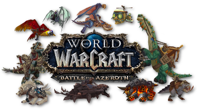 Warcraft Mounts: Battle for Azeroth mounts by source