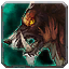 Red-Brown Draenor Wolf