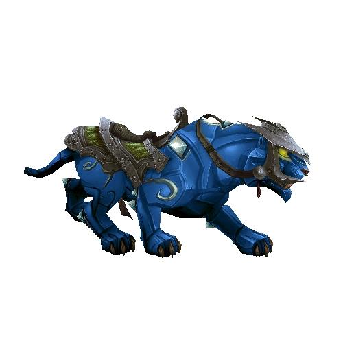 Warcraft Mounts Sapphire Panther