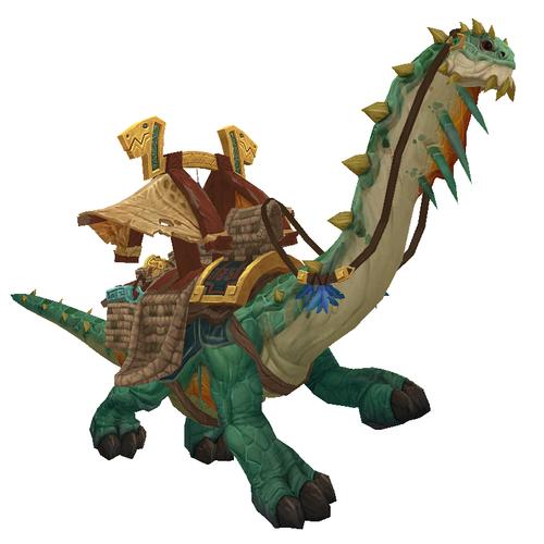 Warcraft Mounts: Mighty Caravan Brutosaur