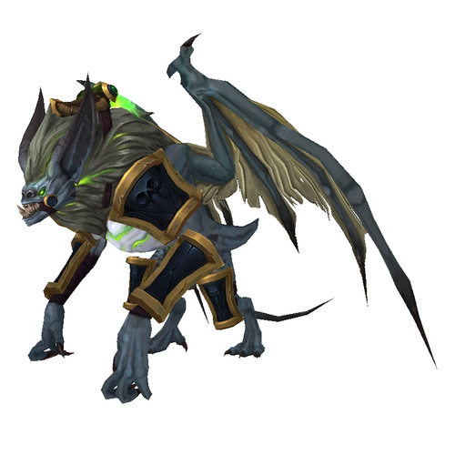 how to get the warlock class hall mount