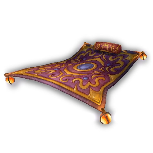 Warcraft Mounts Magnificent Flying Carpet