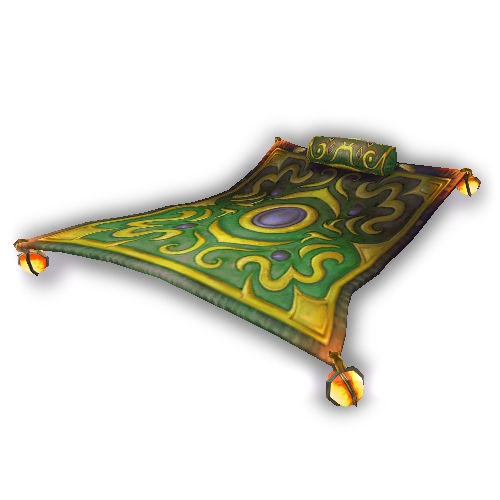 Warcraft Mounts Flying Carpet