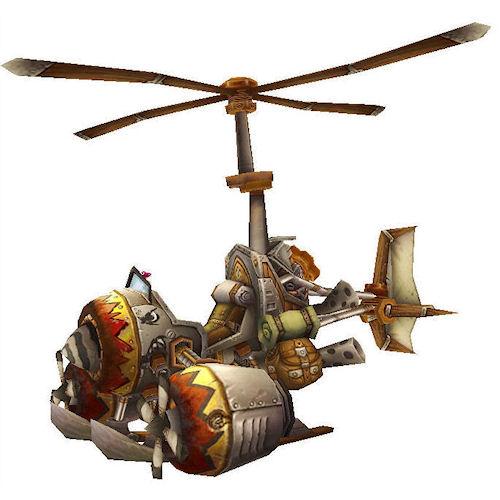 Warcraft Mounts: Turbo-Charged Flying Machine