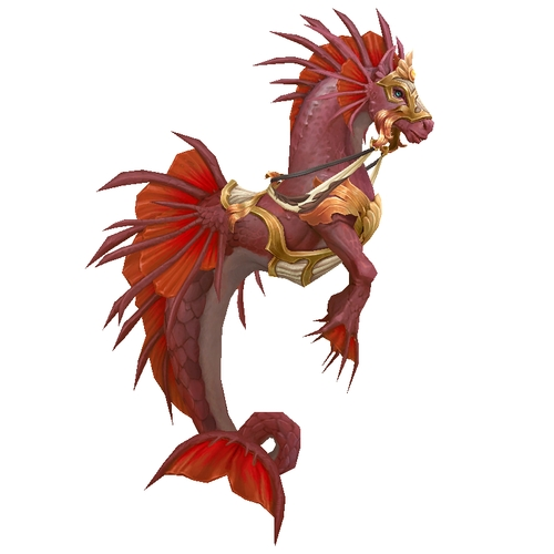 Warcraft Mounts: Crimson Tidestallion
