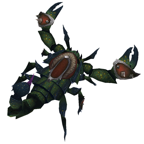 Warcraft Mounts: Green Scorpion
