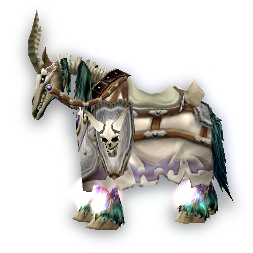 Warcraft Mounts White Skeletal Warhorse