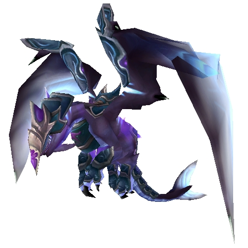 Teal Armored Nether Drake