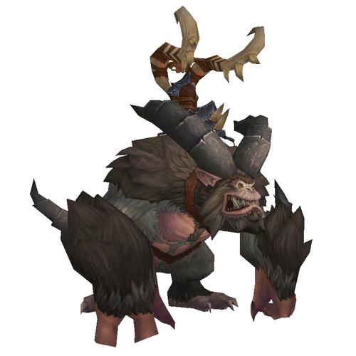 Warcraft Mounts: Brown Yeti