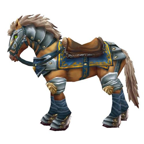 Warcraft Mounts: Swift Palomino