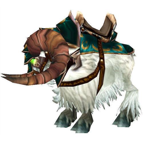 Warcraft Mounts: Swift White Ram