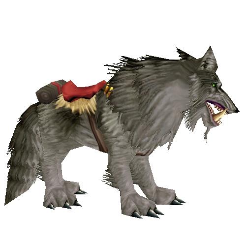warcraft mounts dire wolf