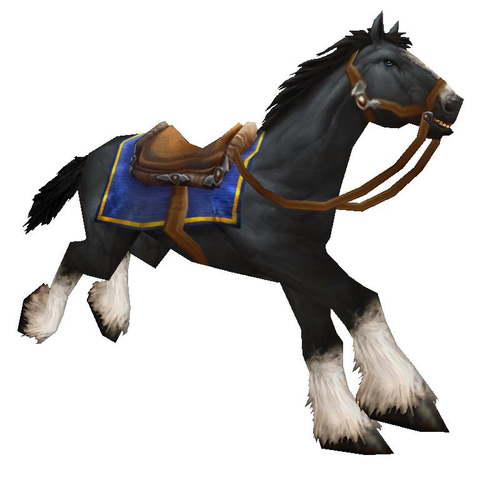 Warcraft Mounts: Black...