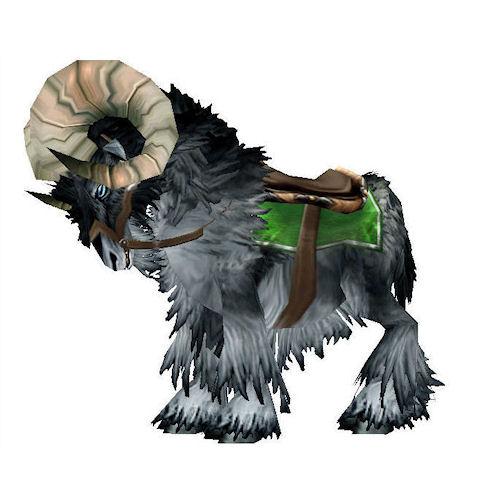 Warcraft Mounts Black Ram