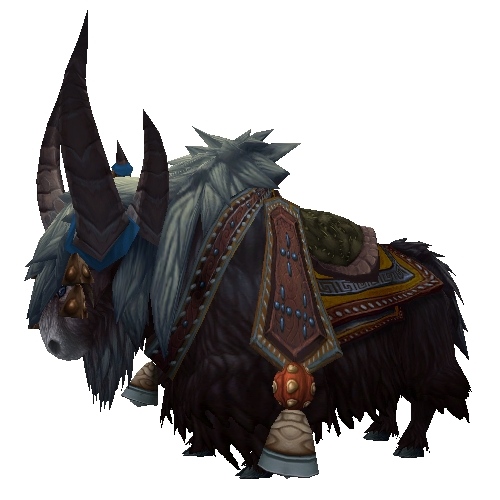 Black Riding Yak