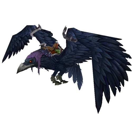 Warcraft mounts shadowblade 39 s murderous omen for Portent pet wow
