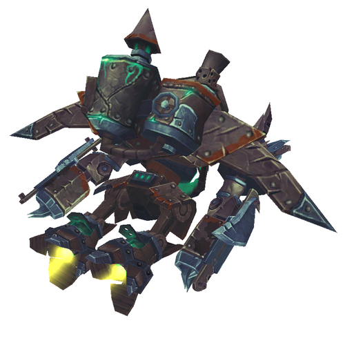 Warcraft Mounts: Steel & Bronze Flying Suit
