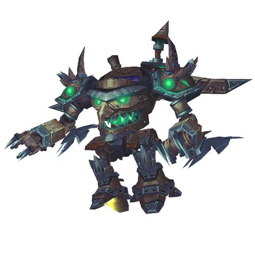 Warcraft Mounts: Steel & Bronze Flying Suit