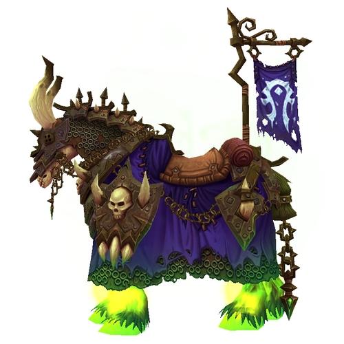 The Vicious Skeletal Warhorse