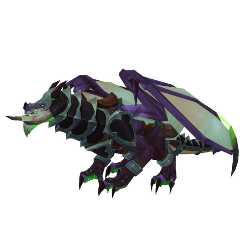 Demonic Gladiator's Storm Dragon