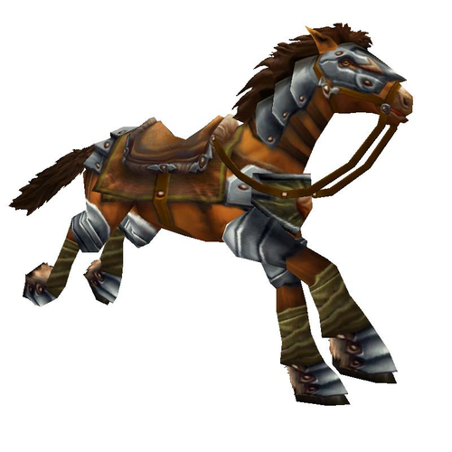 Brown War Steed