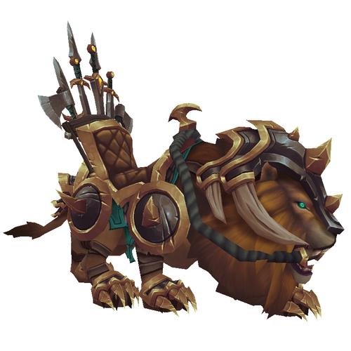 Warcraft Mounts: Vicious War Lion