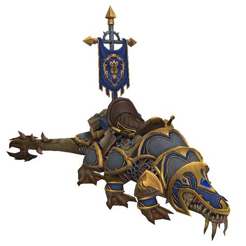 Warcraft Mounts: Vicious War Basilisk [Alliance]
