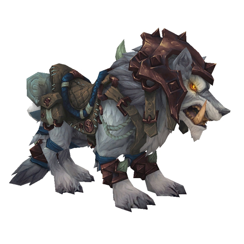 warcraft mounts armored frostwolf