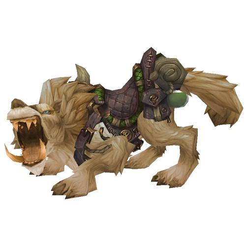Warcraft Mounts: Dustmane Direwolf