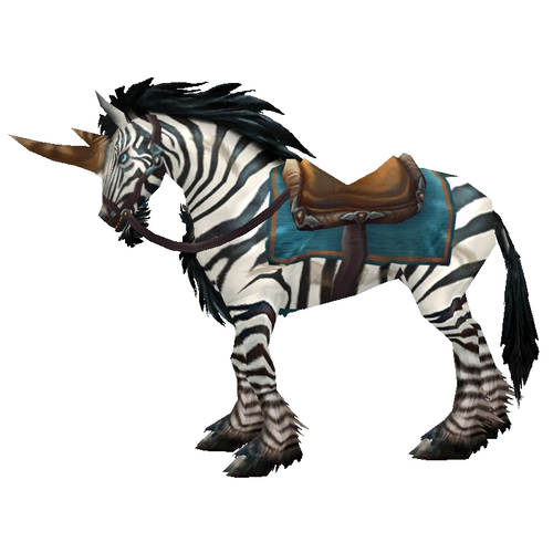 Warcraft Mounts: Swift Zhevra