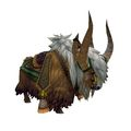 Blonde Riding Yak