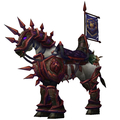 Purple Armoured War Steed