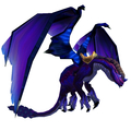 Purple Twilight Drake