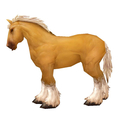 Palomino Mountain Horse