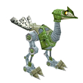 Green Mechanostrider