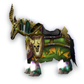 Green-Gold Skeletal Warhorse