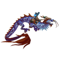 Thundering Cobalt Cloud Serpent