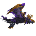 Purple Dread Raven