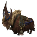 Brown Riding Yak