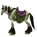 Green Skeletal Horse