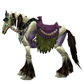 Purple Skeletal Horse